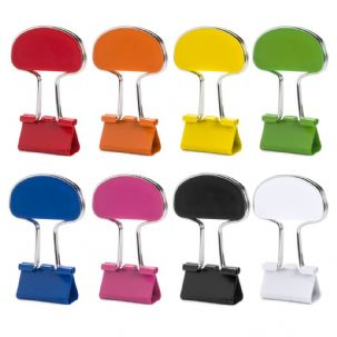 25 mm Colourful Metal Bulldog Clips